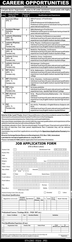 Public Sector Organization Islamabad Career Opportunities 2011-public-sector-organisation-islamabad-career-oppounities-2011.jpg