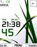 Name:  Grass clock theme by venky - Nokia mobile theme.jpg Views: 38409 Size:  5.8 KB