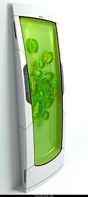 Electrolux Bio Robot Refrigerator works on biopolymer gel-bio-robot-refrigerator-3.jpg