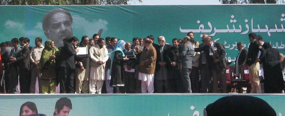 Laptops which will be awarded by CM. Shahbaz Sharif. on 7th of Feb in BZU-laptop-distribution-ceremony-bzu-nawaz-sharif-7-.jpg